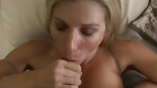 Mom wakes up to step-son's cock
